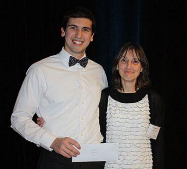 Prix de la relève 2017: Simon Thibault